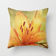 I am Lily Throw Pillow