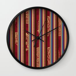 Lindsay Stripe Wall Clock