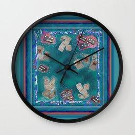 Surreal Lake Art and Poem Wall Clock