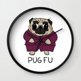 PUG FU Wall Clock
