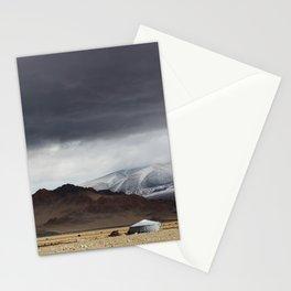 mongolian landscape Stationery Cards
