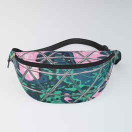 Triangle Glass Tiles 39 Fanny Pack