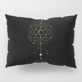 Aries Zodiac Constellation Pillow Sham