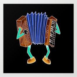 Instrument Dude Art Print