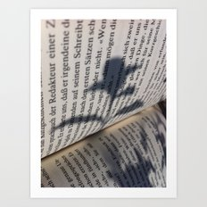 Bookflower Art Print