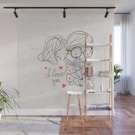 Couple Love Wall Mural