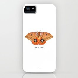 Randa's Eyed Silkmoth (Automeris randa) iPhone Case