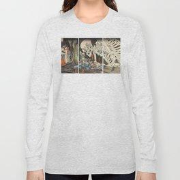 Takiyasha the Witch and the Skeleton Spectre Long Sleeve T-shirt
