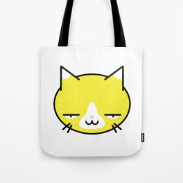 Kore wa Cat (Smug Yellow Cat) Tote Bag