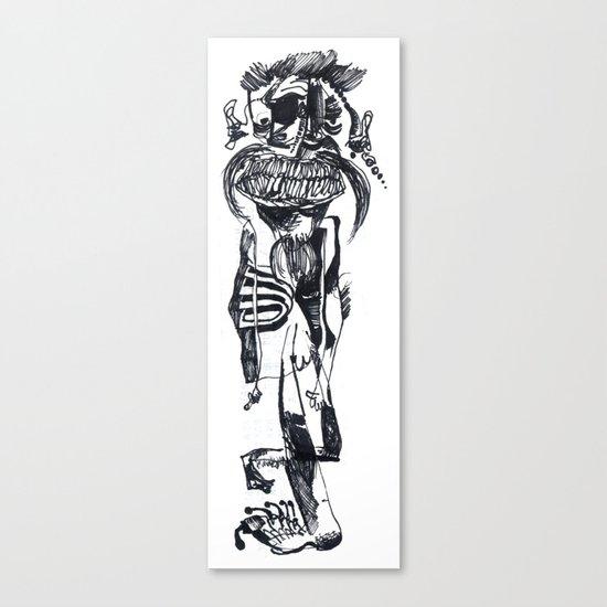BIGOTES Canvas Print