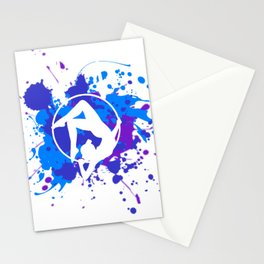 Lyra Contortion Aerial Hoop Stationery Cards
