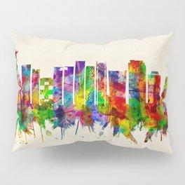 Rio de Janeiro Brazil Skyline Pillow Sham