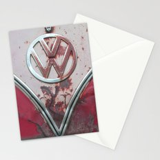 Pink Rusty VW Stationery Cards