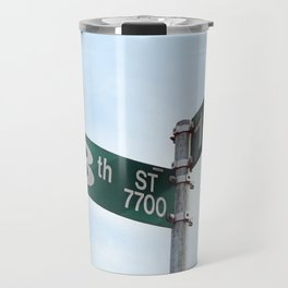 At a Crossroads Travel Mug
