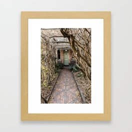 Old Door - Launceston Framed Art Print