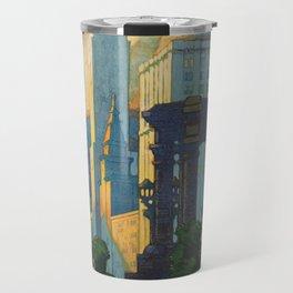 Vintage poster - Chicago Travel Mug