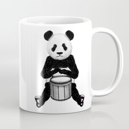 Panda Drummer Coffee Mug