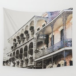 New Orleans Throwback Wall Tapestry