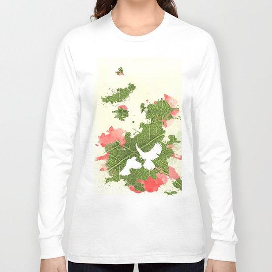 Leaf Bird Long Sleeve T-shirt