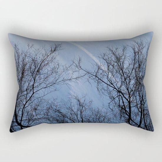 Landscape in the winter Rectangular Pillow