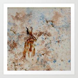 Hare 1 Art Print