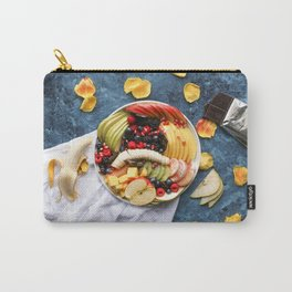 Beautiful Fruit Platter Print for Office Carry-All Pouch