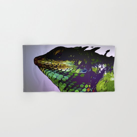 Lizard Hand & Bath Towel