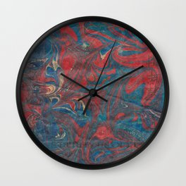 Water with fire  Wall Clock