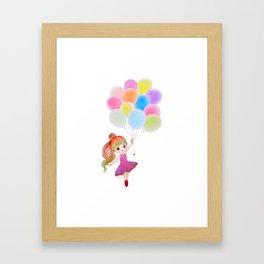 My Balloon Framed Art Print