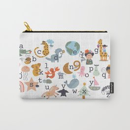 beautiful abc for kids Carry-All Pouch
