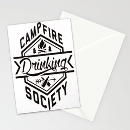 CAMPFIRE DRINKING SOCIETY Stationery Cards