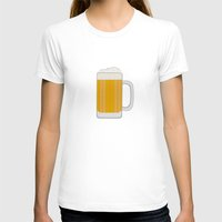 beer T-shirts featuring Beer  by Cute to Boot
