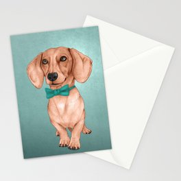 Dachshund, The Wiener Dog Stationery Cards