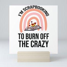 Scrapbooking Gift   Scrapbooking Lover Scrapbook Mini Art Print