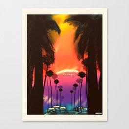 Los Angeles/Hollywood Canvas Print