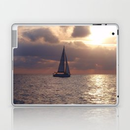 Yacht At Dusk Laptop & iPad Skin