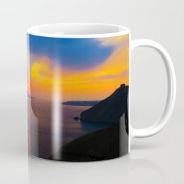 Fira,Sunset Coffee Mug