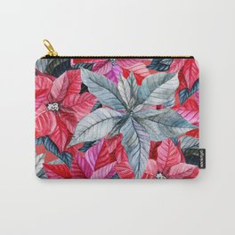 Poinsettia pattern 2 Carry-All Pouch