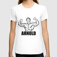 arnold T-shirts featuring Arnold Schwarzenegger  |  AHNOLD by Silvio Ledbetter