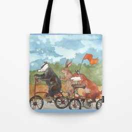 Bike Race Tote Bag