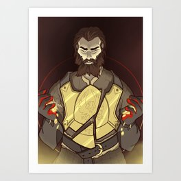 Companion Fears - Himself Art Print