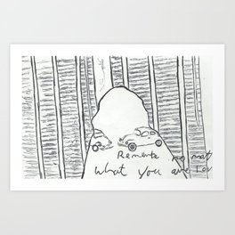 Remember No Matter What, You are Loved Art Print