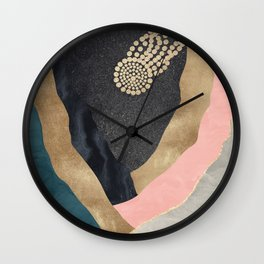 Cosmic Canyon Space Star Wall Clock