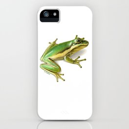 Tree Frog iPhone Case