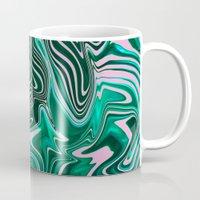 palms Mugs featuring Palms by Katekima