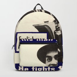 Englishman-He Fights For Your Freedom Backpack