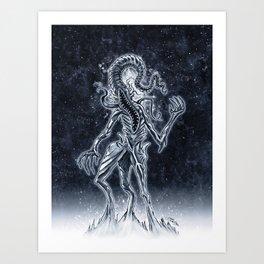 Nyarlathotep the Crawling Chaos Art Print