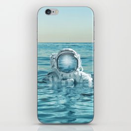 scuba space iPhone Skin