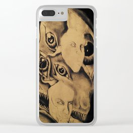 Soul Watchdog Clear iPhone Case