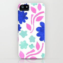Cool Folk Floral iPhone Case
